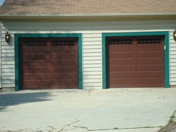 After garage doors