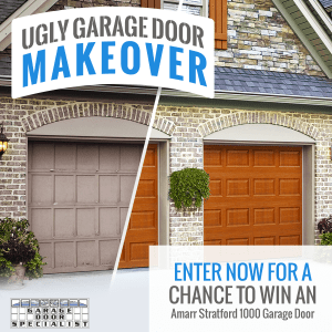 Ugly Garage Door Makeover