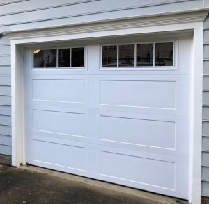 Cary garage door - after