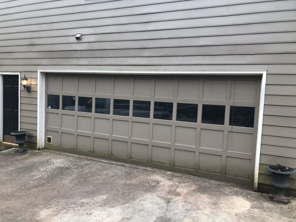 garage door before