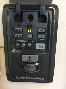 liftmaster timer to close