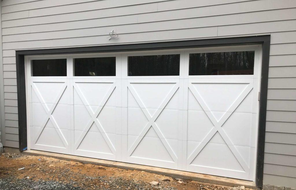overlay garage door