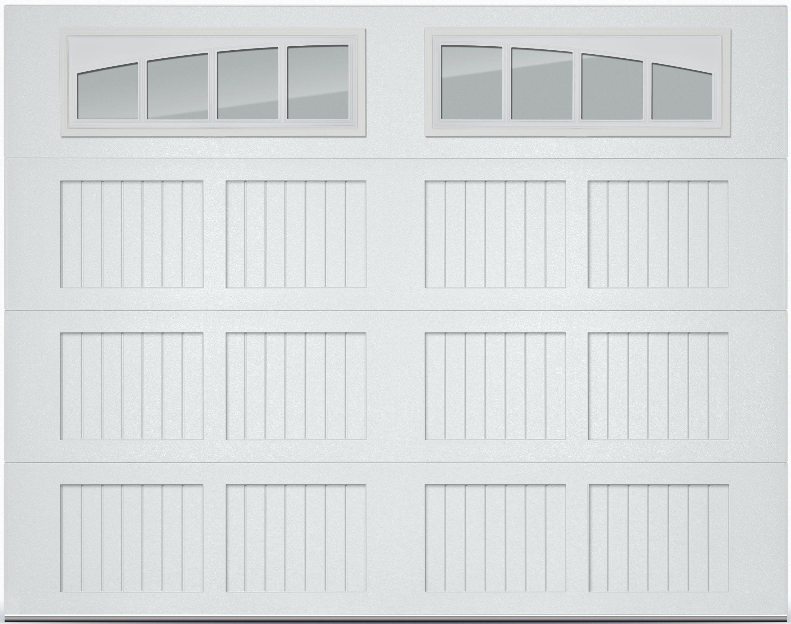 CHI stamped carriage garage door
