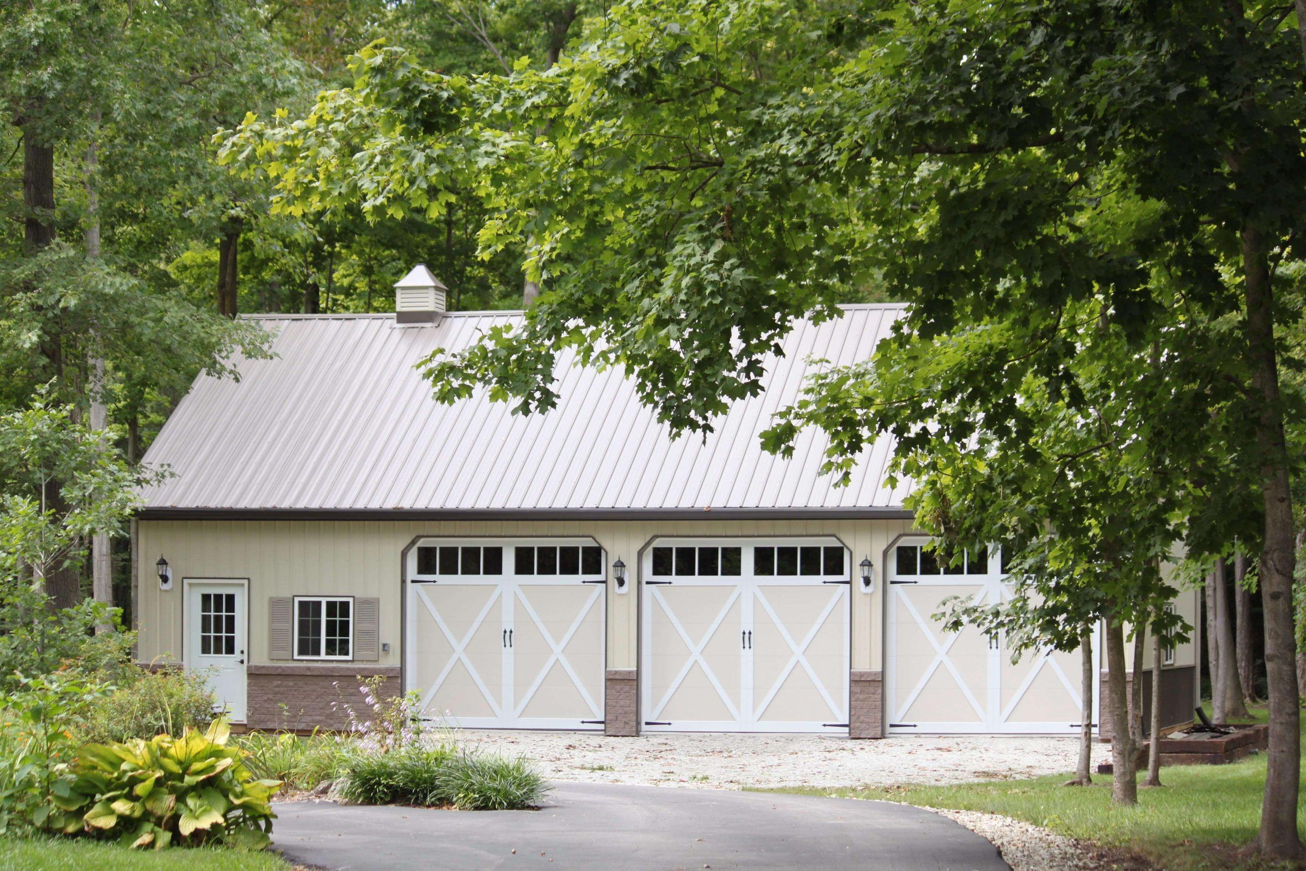 overlay carriage garage doors