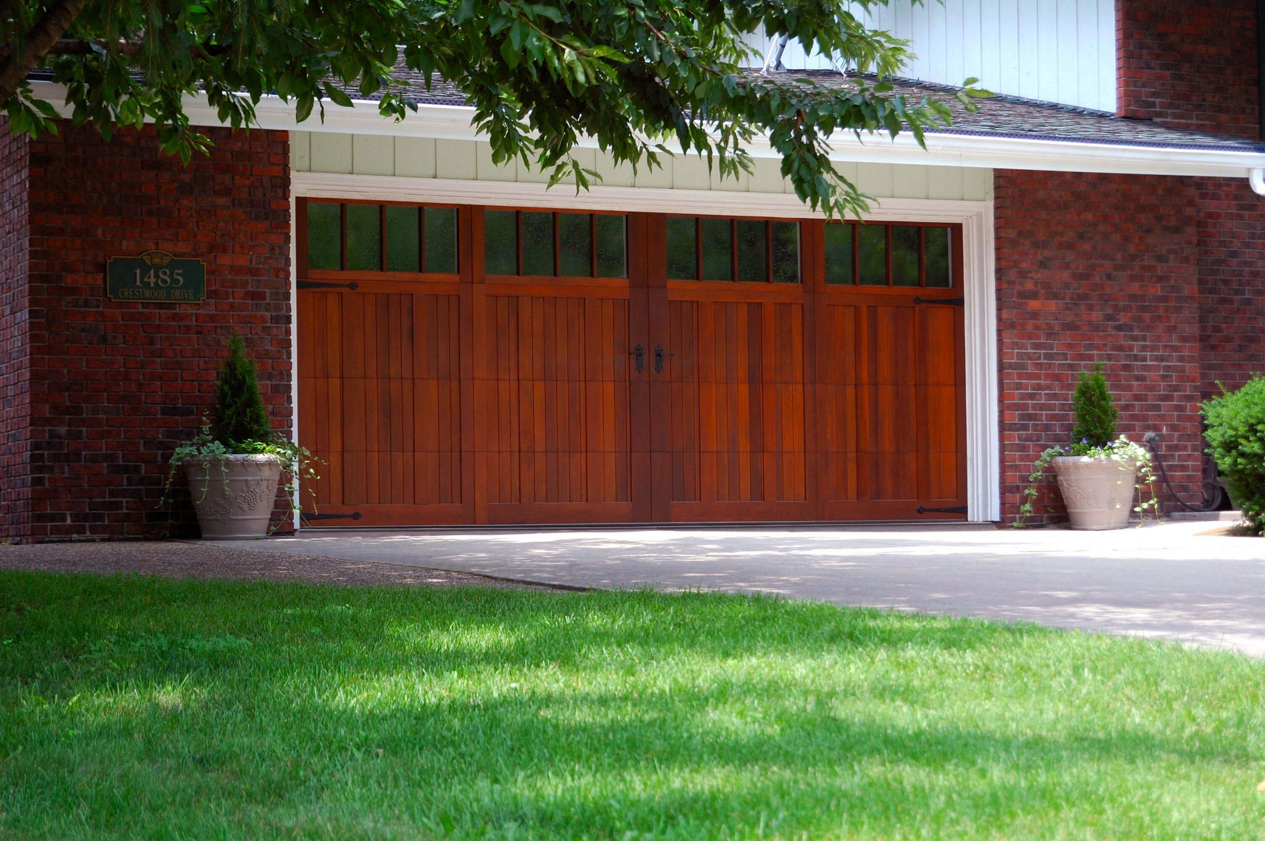 overlay carriage garage door